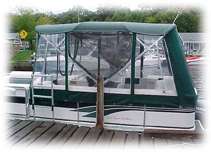 Pontoon Boat Enclosures And Cabanas